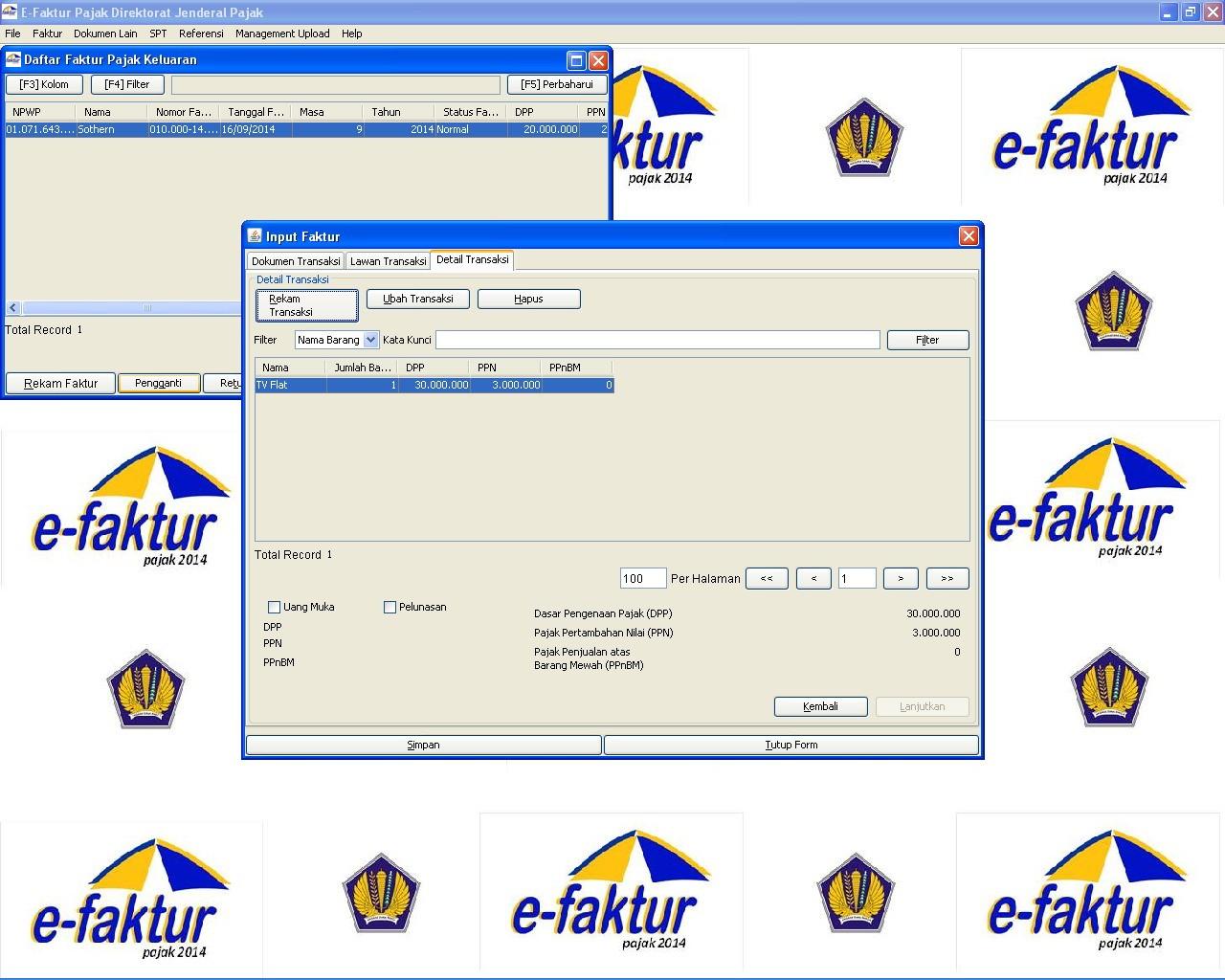 Melakukan Pembatalan Faktur Pajak Di Aplikasi E Faktur E